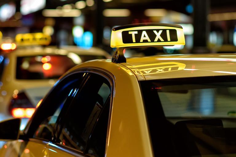 dach taksówki